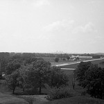 St. Louis from Monk's Mound, Cahokia Mounds